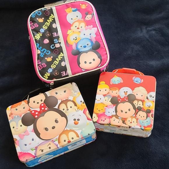 Disney Other - Brand new Disney Tsum Tsum lunchbox bundle